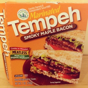 Smoky Maple Bacon Tempeh