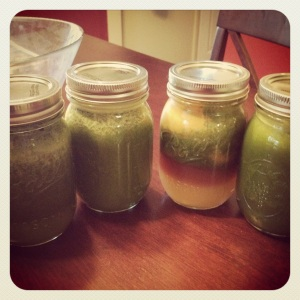 juicing mason jars